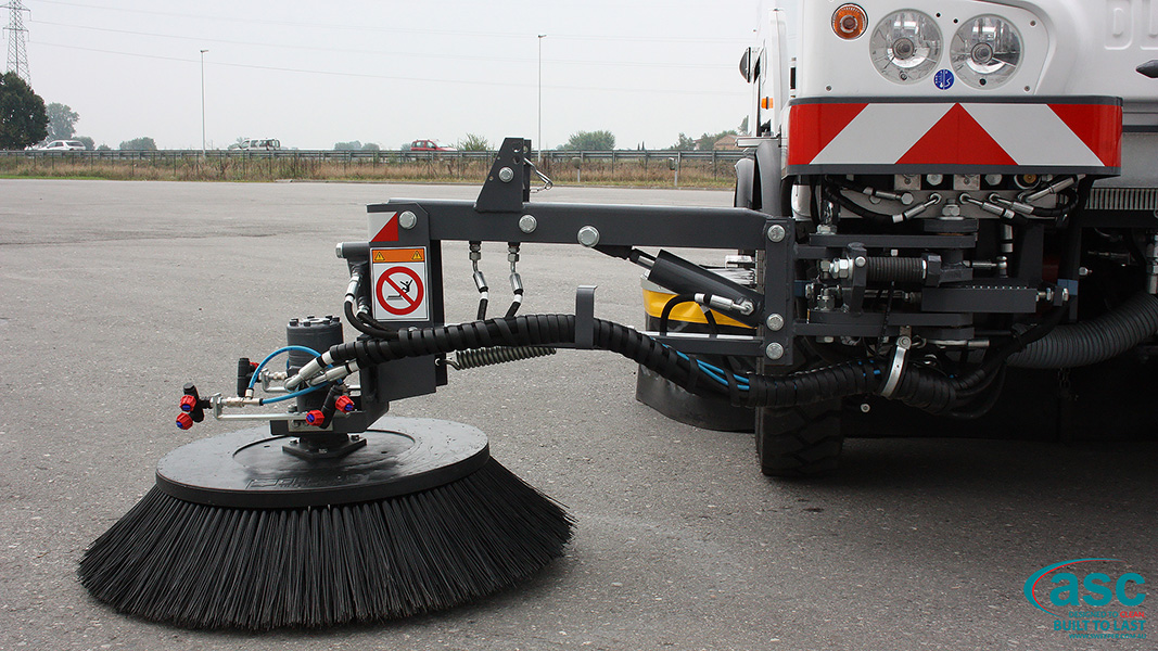 ASC DULEVO 3000 sweeper brush 1