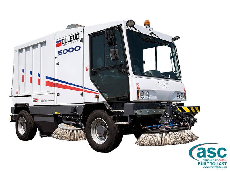 ASC Dulevo 5000 sweeper 1