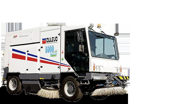 ASC Dulevo 5000 Sweeper banner