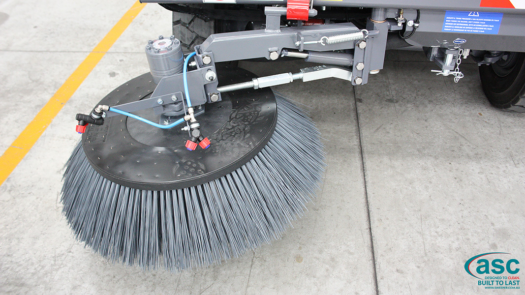 ASC Dulevo 6000 sweeper brush 2