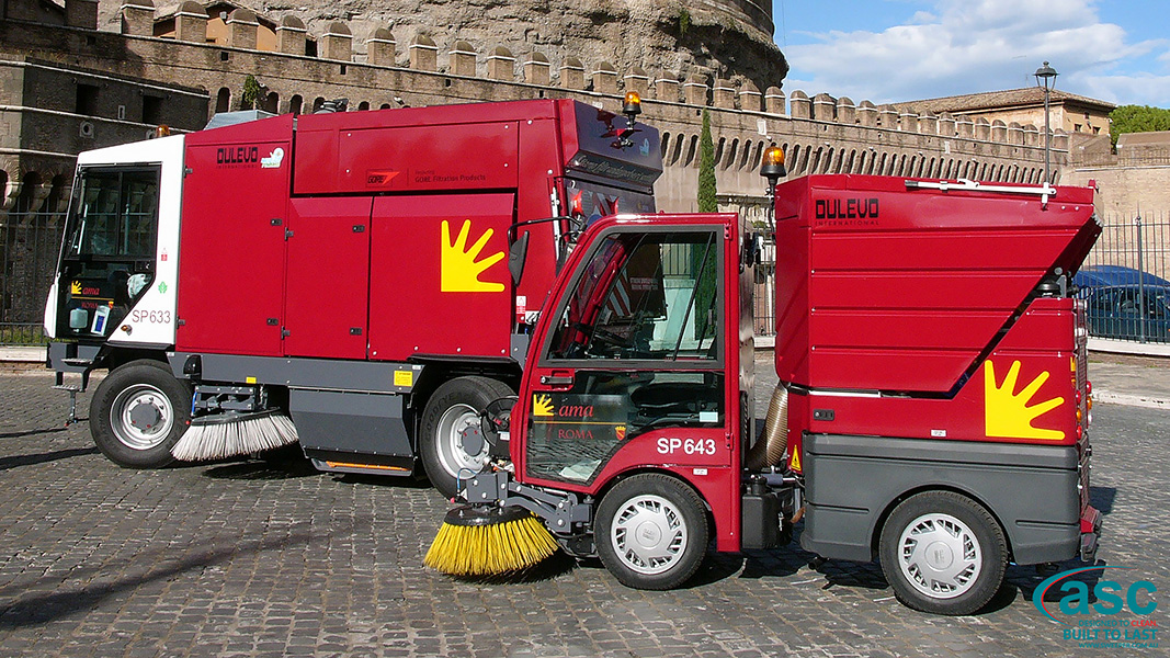 ASC DULEVO 850 sweeper 4