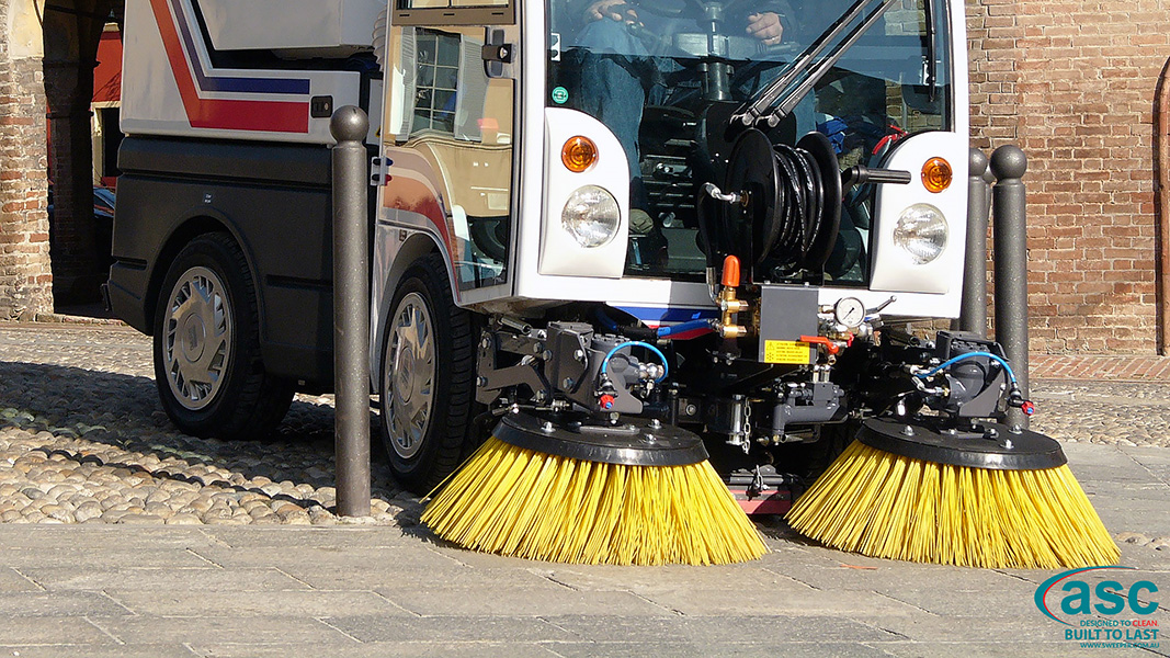 ASC DULEVO 850 sweeper brush 3