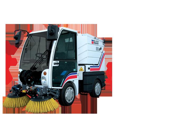 ASC DULEVO 850 Sweeper banner