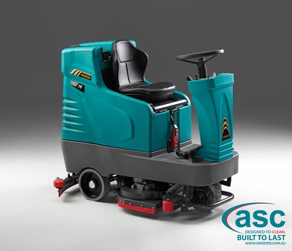 ASC Eureka E75 scrubber 3