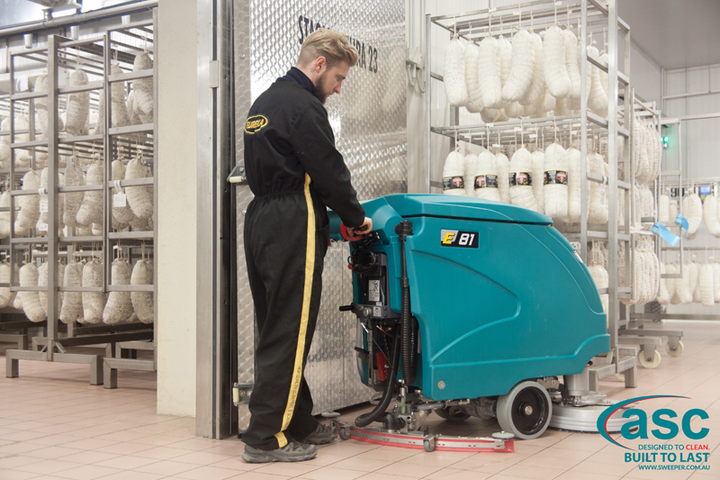 ASC Eureka E81 scrubber with  man 2