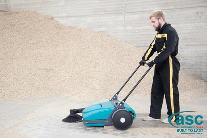 ASC Mep Eureka sweeper with man 8