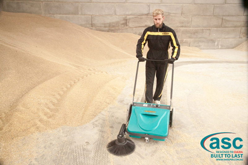 ASC Mep Eureka sweeper with man 9