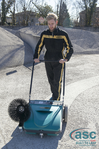 ASC Mep Eureka sweeper with man 7