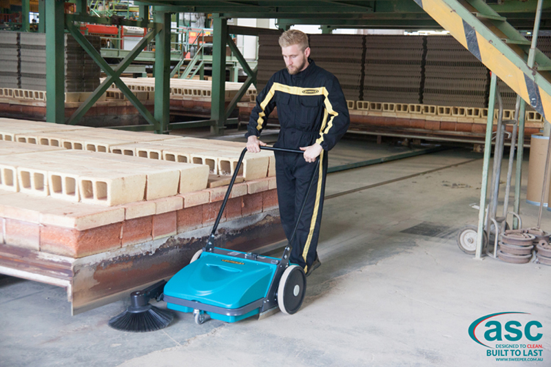 ASC Mep Eureka sweeper with man 10