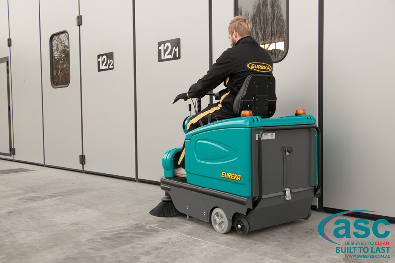 ASC Eureka M2 sweeper with man 10