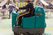 nav ASC Eureka E100 Sweeper with man 8