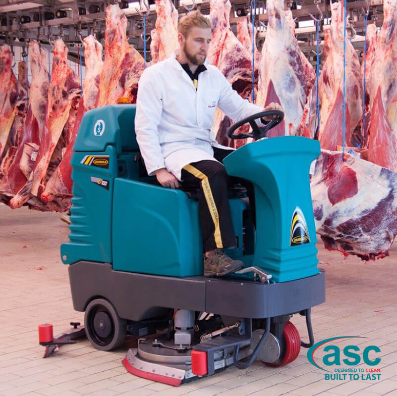 ASC Eureka E100 Sweeper with man 7
