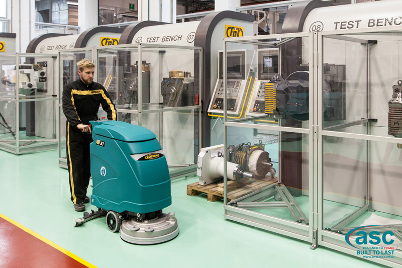 Walk-behind Floor Scrubber Machine