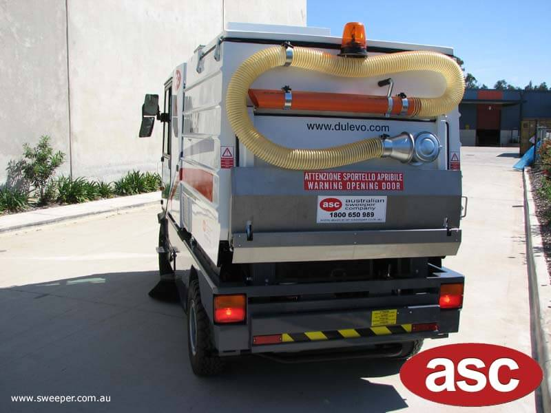 ASC Dulevo 200 sweeper 2