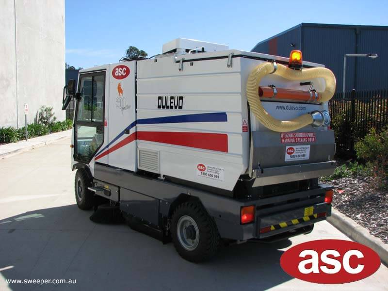 ASC Dulevo 200 sweeper 3