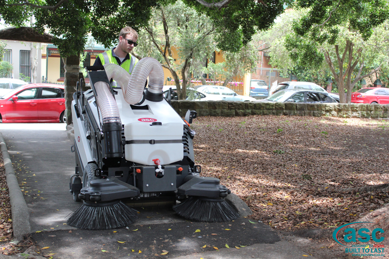 ASC 125 Sweeper with man 6