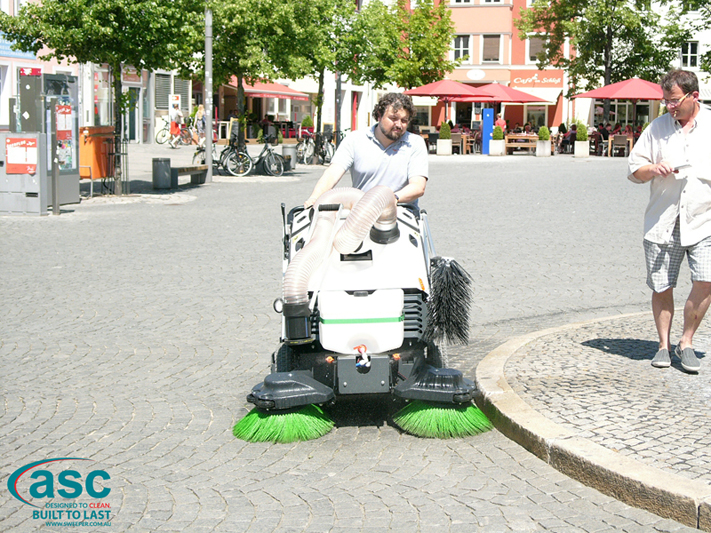 ASC 125 Sweeper with man 11