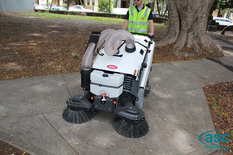ASC 125 Sweeper with man 4