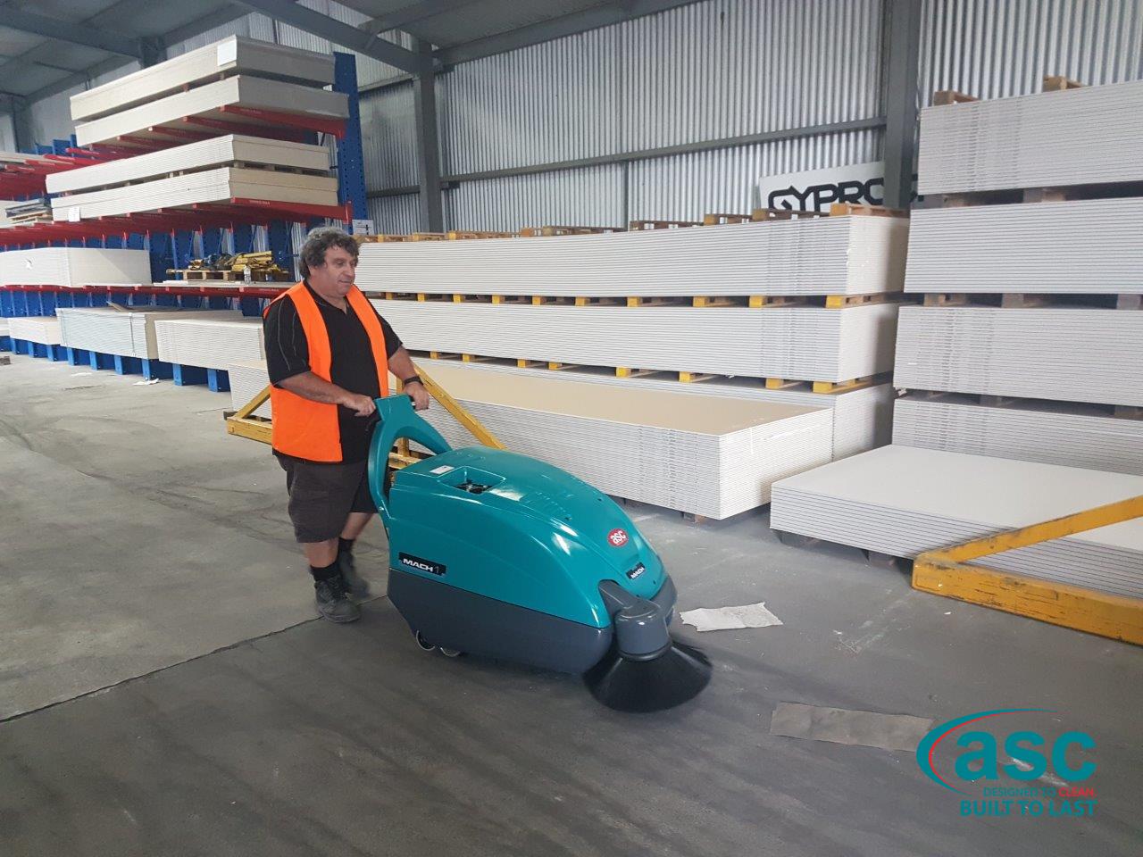 Picton Hopkins Facility Using ASC Eureka M1 Sweeper 1