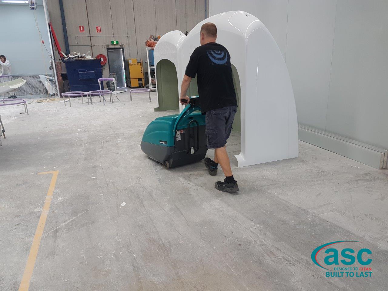 Picton Hopkins Facility Using ASC Eureka M1 Sweeper 2