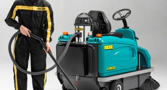 ASC Eureka Sweeper With On-Board Vacuum Cleaner 1