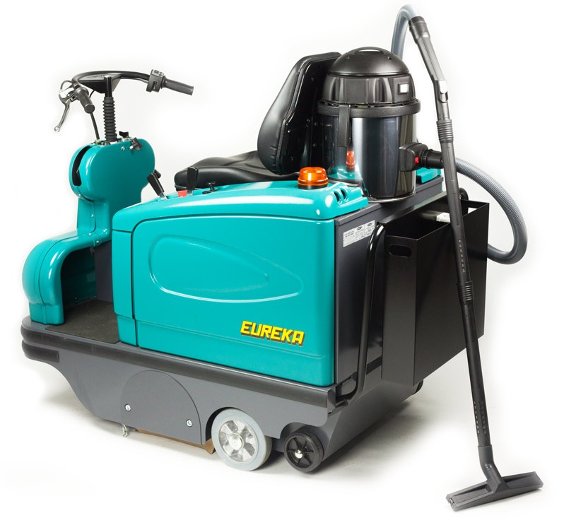 ASC Eureka Sweeper With On-Board Vacuum Cleaner 2