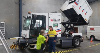 PWCS Has Been Using the ASC Dulevo 5000 Sweeper for 5 Years