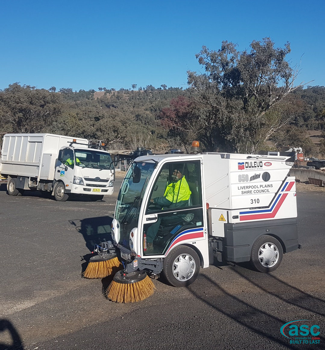 ASC Dulevo 850 Street Sweeper In Liverpool Plains Shire