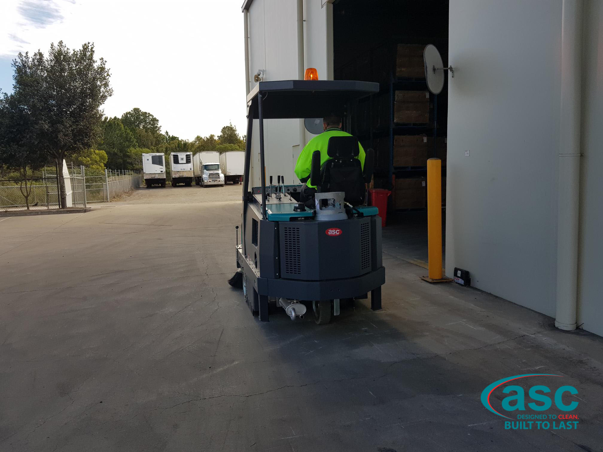 ASC Eureka Mach 6 At CDM Logistic's Warehouse
