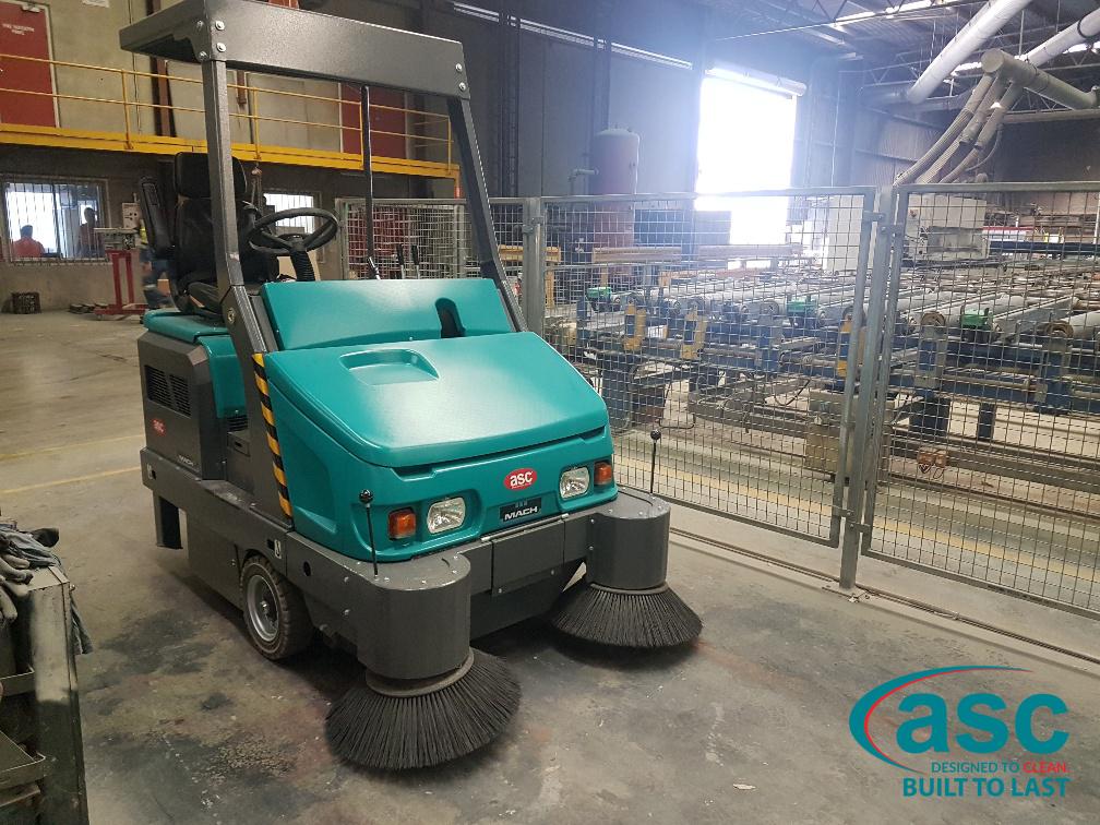 ASC Eureka M6 Sweeper At BGC's Plant 2