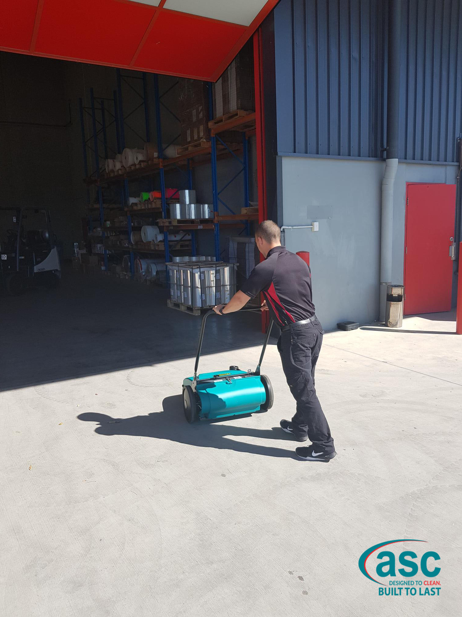 ASC Eureka MEP Sweeper At Ulta Label's Warehouse 3