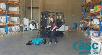 ASC Sweeper Aligns with Ultra Labels Energy Intelligent Processes