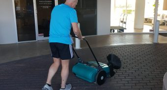 ASC MEP Sweeper Minimises The Duporth Riverside's Cleaning Times