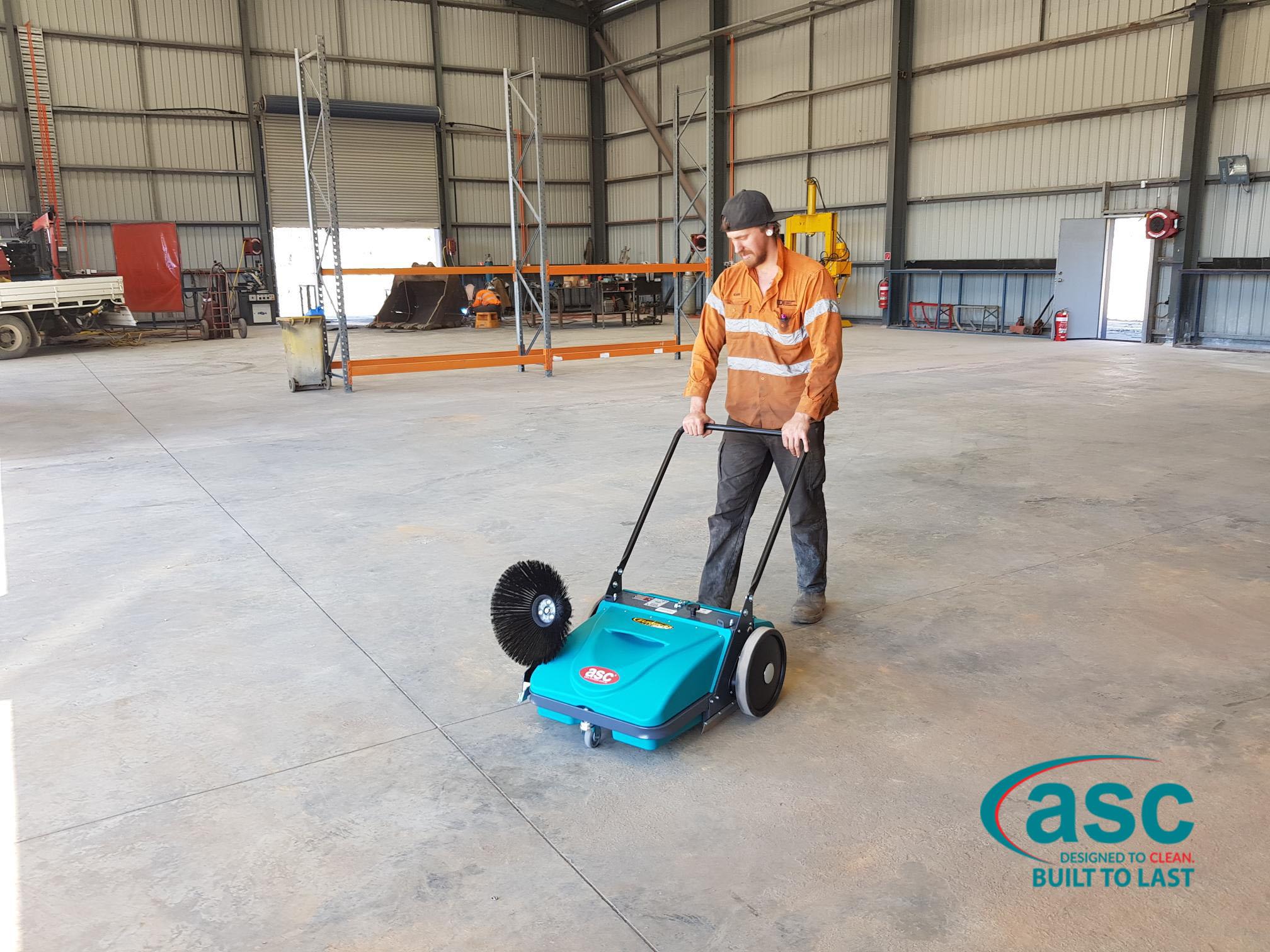 ASC Eureka MEP Sweeper At EDI Facility 1
