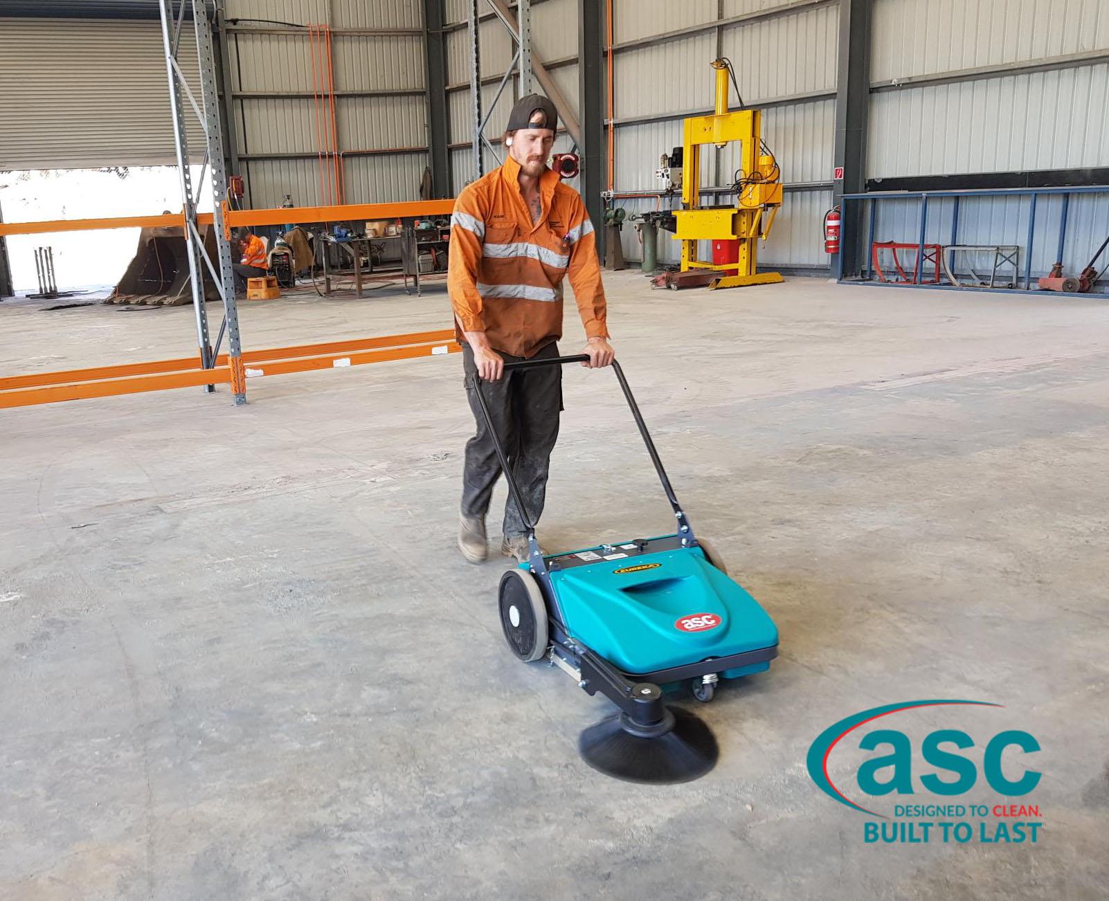 ASC Eureka MEP Sweeper At EDI Facility 5
