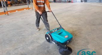ASC Sweeper Proved to Be 12 Times More Efficient for EDI Then Manual Cleaning