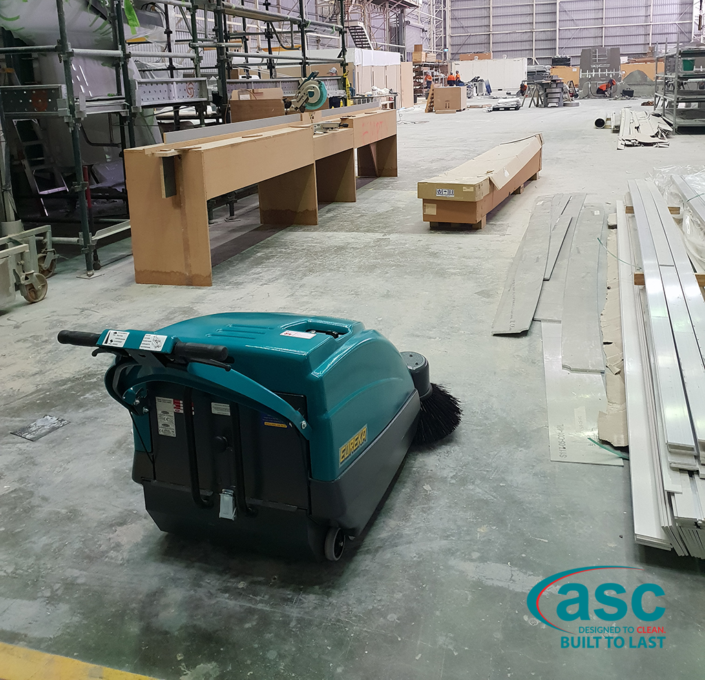 ASC Eureka M1 Sweeper At Evolution Commercial's Facility 3
