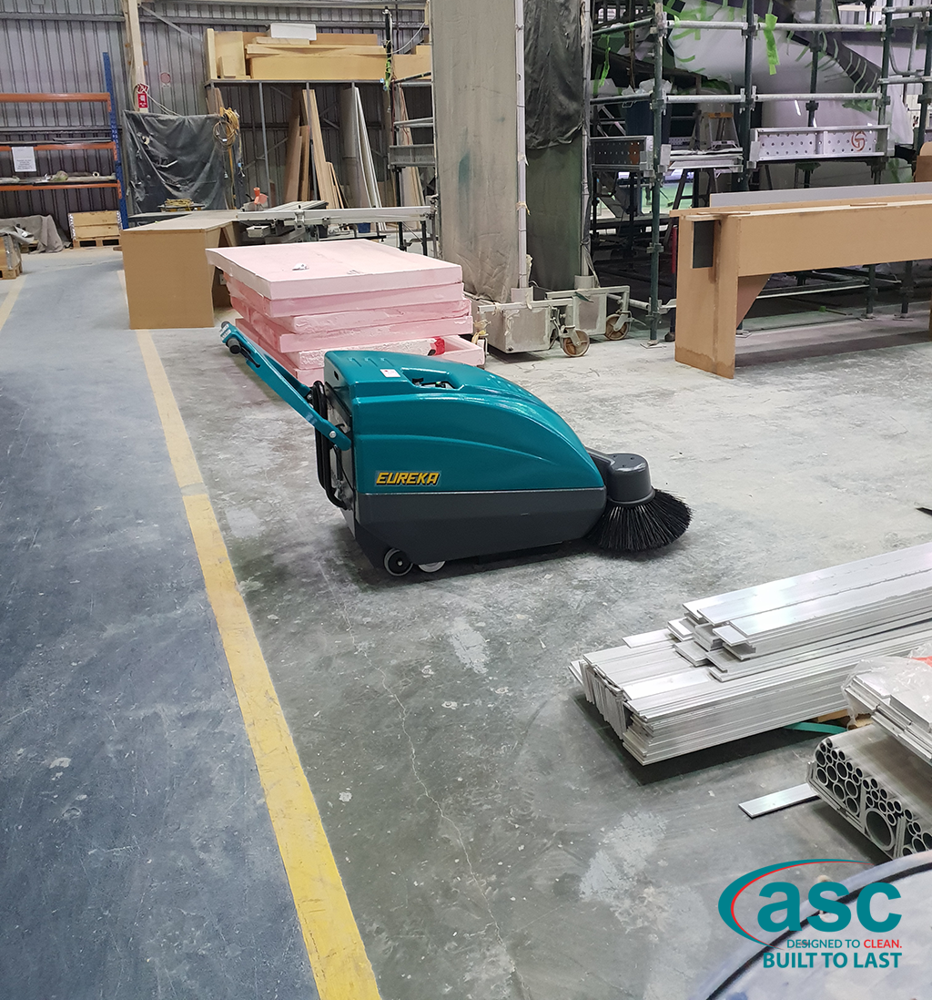 ASC Eureka M1 Sweeper At Evolution Commercial's Facility 2