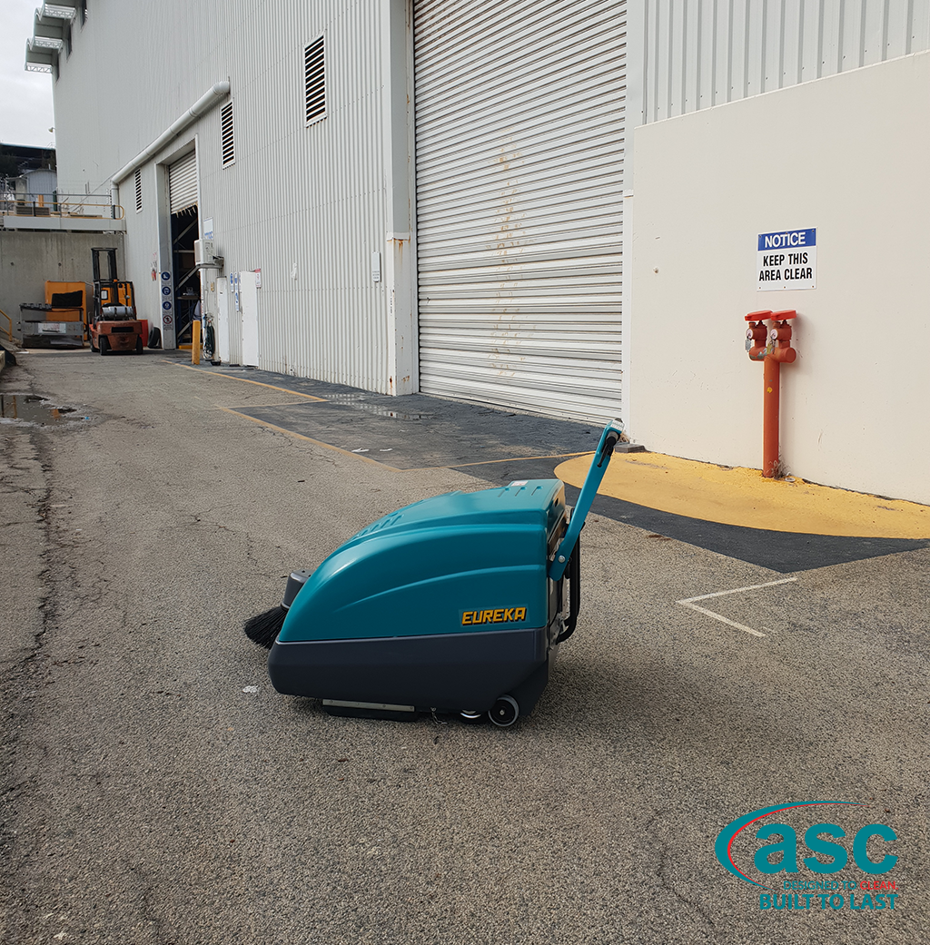 ASC Eureka M1 Sweeper At Evolution Commercial's Facility 1