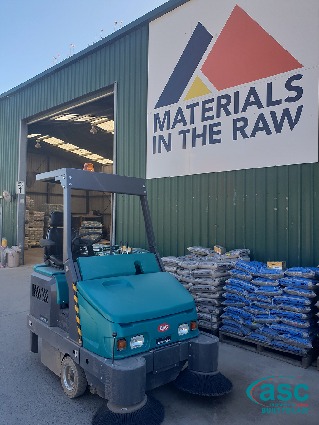 ASC Eureka M6 At the Materials In The Raw Warehouse