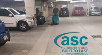 Aria Property Group Trusts ASC Sweeper to Keep Their 7 Story Parking Space Clean