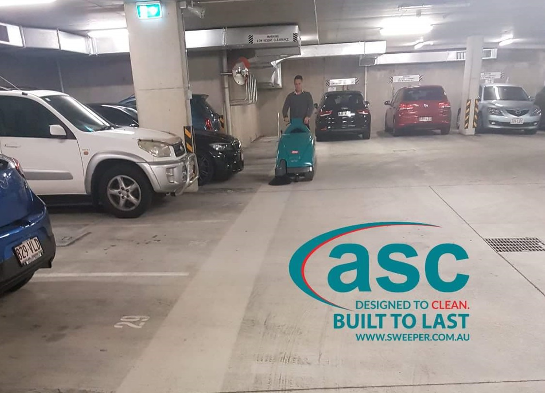 ASC Eureka M1 Sweeper At APG's Underground Car Park