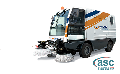 ASC Clean Air Sweeper banner
