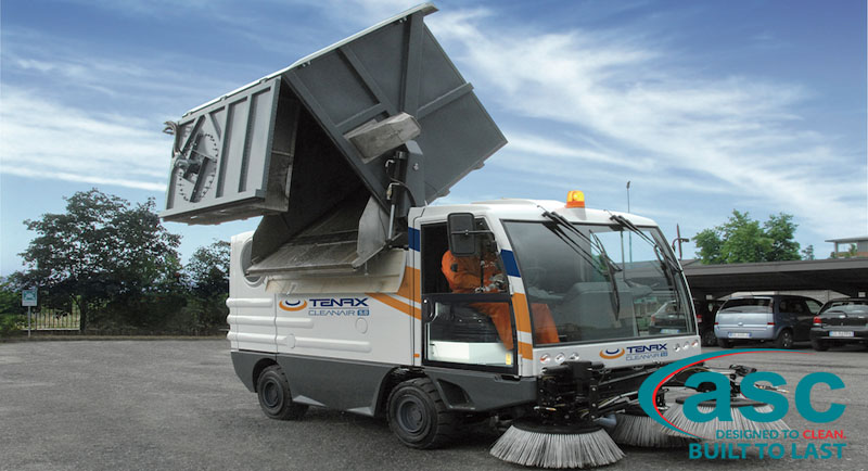 ASC Clean Air Sweeper with man 2