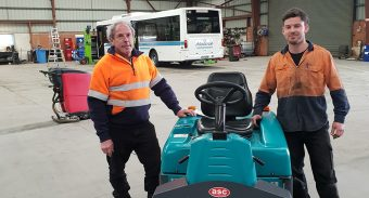 Nuline Charter Can Expect a Life Span of 18-20 Years From Their ASC Eureka M3 Sweeper
