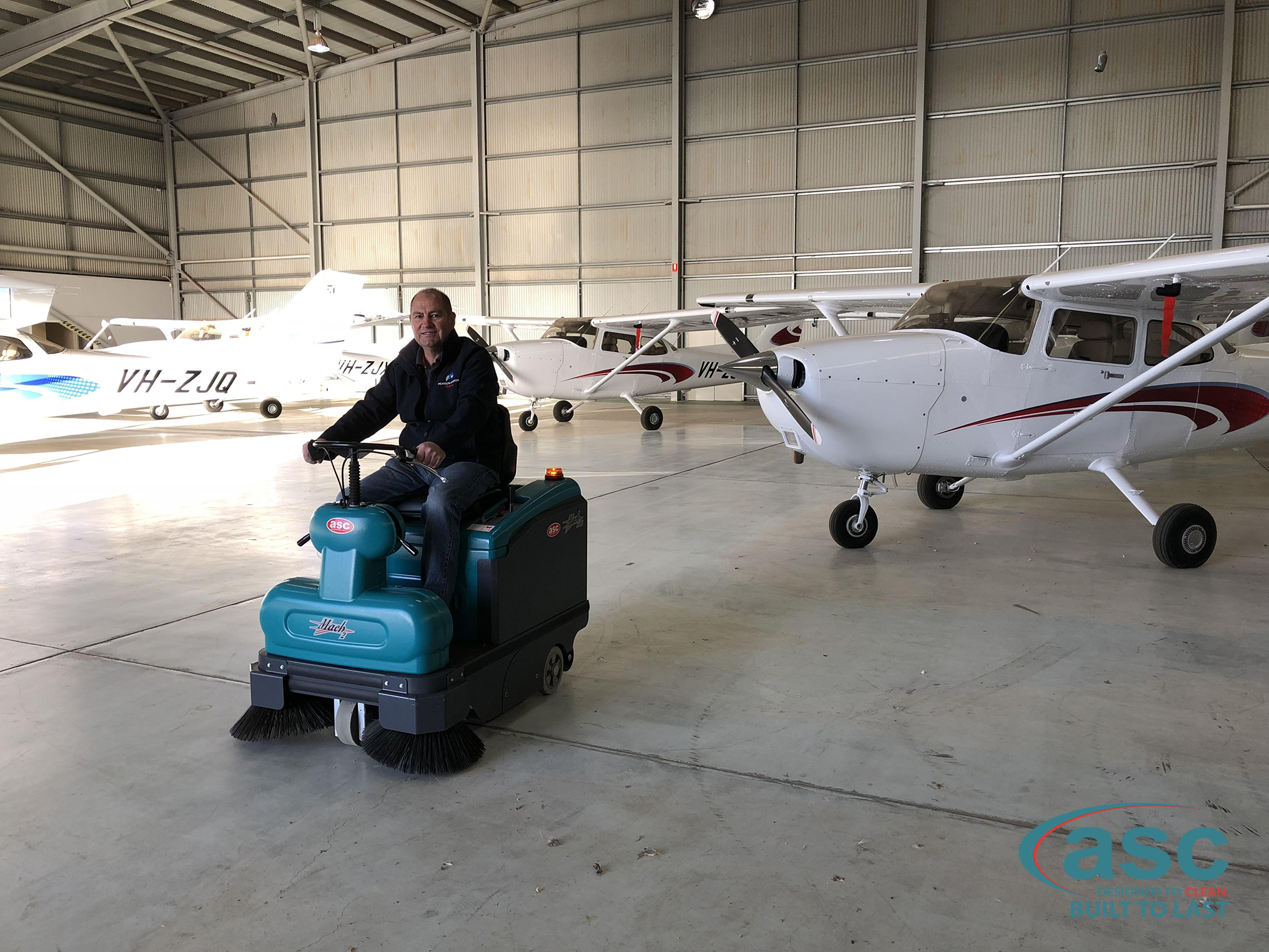 ASC Eureka M2 Sweeper At Mildura Airport