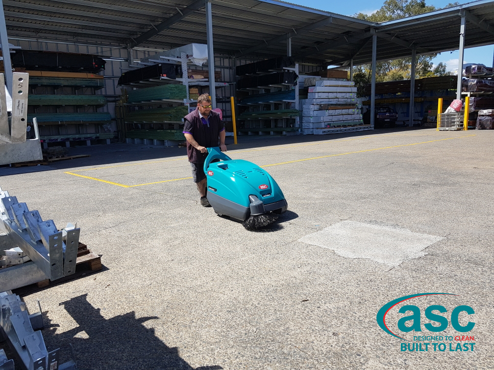 ASC Eureka M1 Sweeper At Woodstock Timber's Facility 3