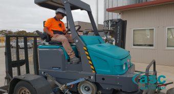 ASC Eureka M6 Sweeper At Ingham's Facility