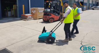 Kilgaro Gets Rid of the Dust Build Up Problem with Low-Cost Investment in the ASC MEP Sweeper