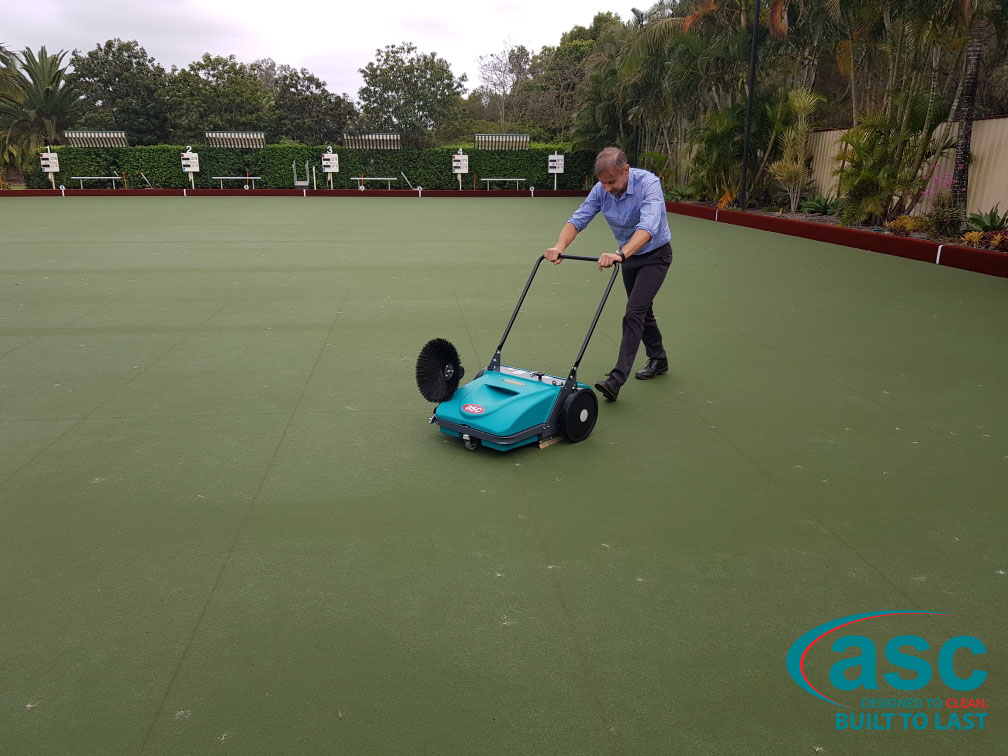 Home Park Management Services Using ASC MEP Sweeper 2